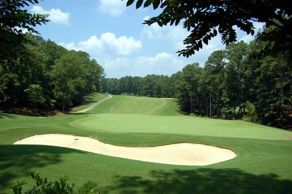 Overview of golf course named Riverchase Country Club