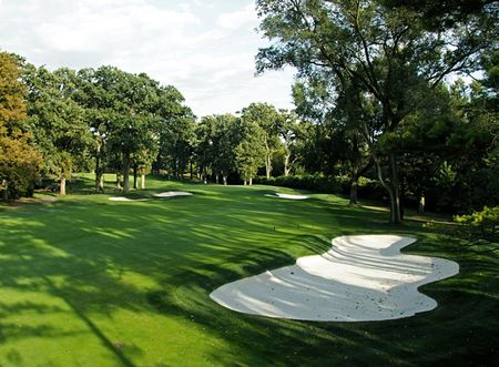 Overview of golf course named Edgewood Valley Country Club