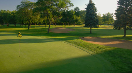 Overview of golf course named Highland Park Country Club