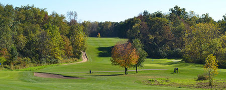 Overview of golf course named Hunters Ridge Golf Course