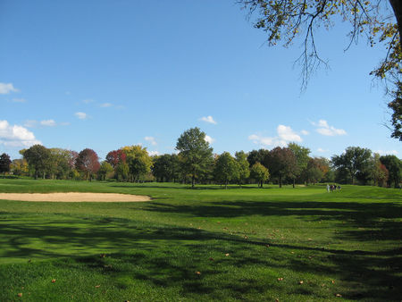 Overview of golf course named Lake Shore Country Club