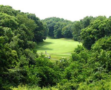 Overview of golf course named Lick Creek Golf Course