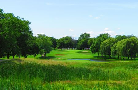 Overview of golf course named Twin Orchard Country Club