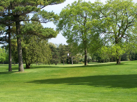 Overview of golf course named Village Green Country Club