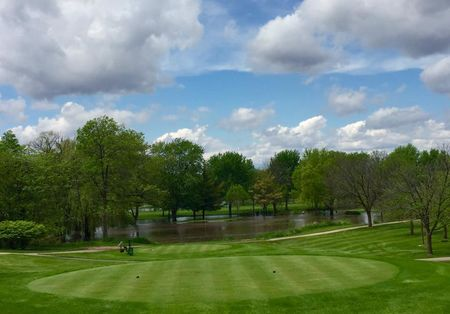 Overview of golf course named Kishwaukee Country Club