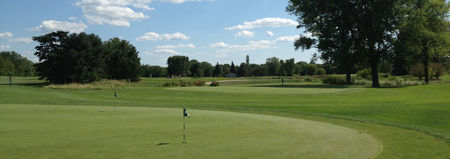 Overview of golf course named Green Meadows Golf Course