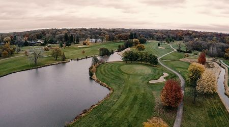 Overview of golf course named Ledges Golf Club