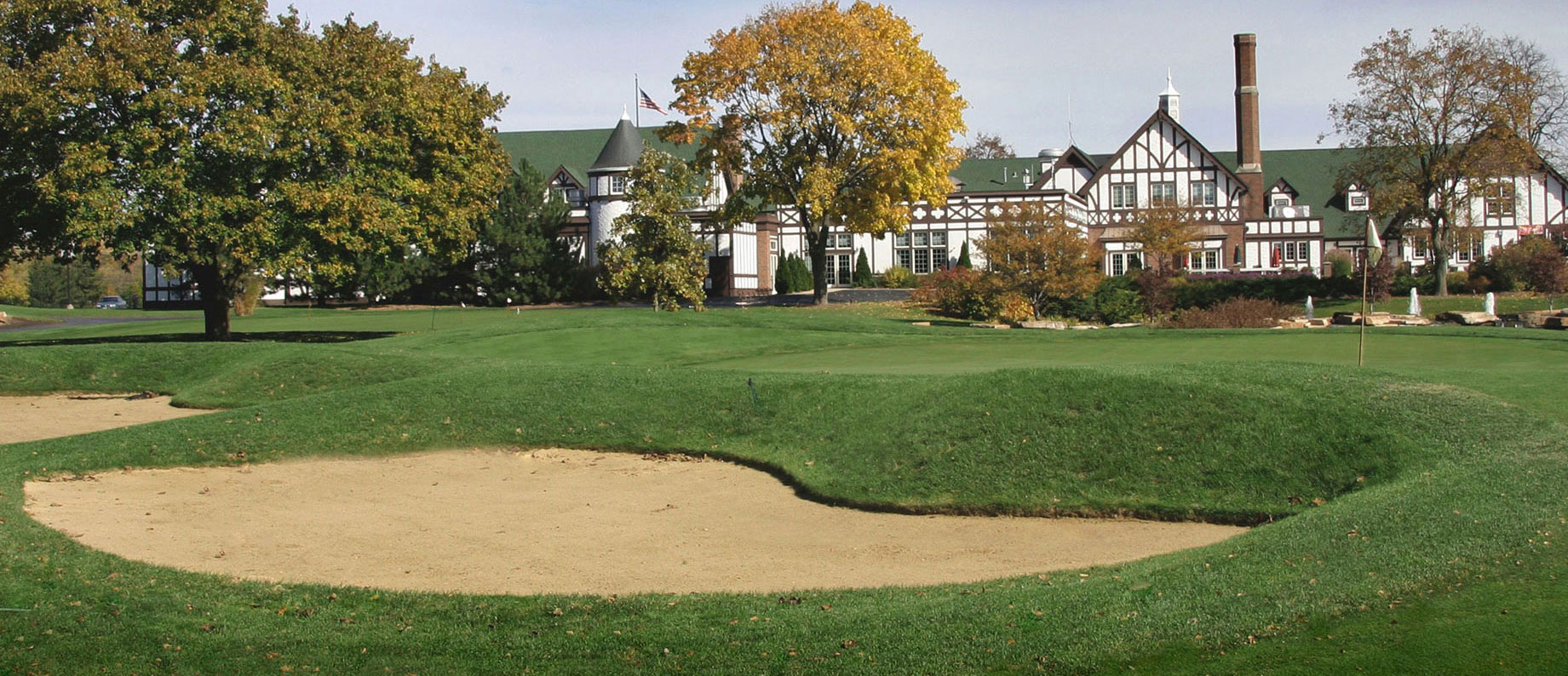 Overview of golf course named Traditions at Chevy Chase