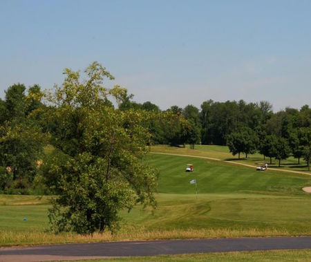 Overview of golf course named Timber Pointe Golf Club