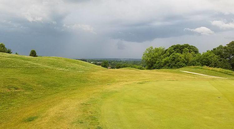 Columbia bridges golf club cover picture