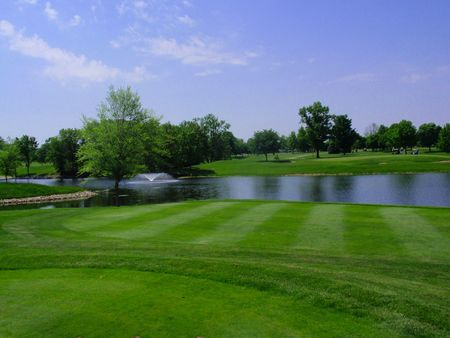 Overview of golf course named Oakwood Country Club