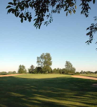 Overview of golf course named River Heights Golf Course