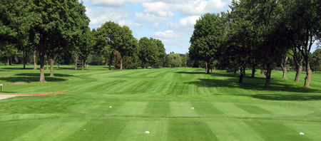 Overview of golf course named Christiana Creek Country Club