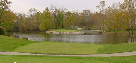 Overview of golf course named Ironwood Golf Club