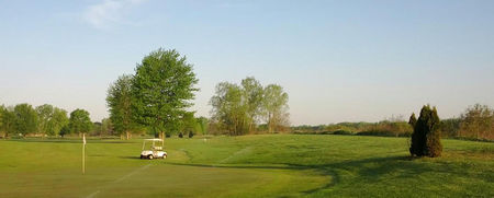 Deer view golf club cover picture
