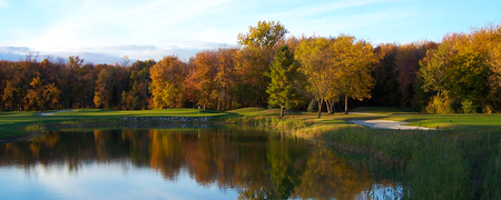 Overview of golf course named Maple Leaf Golf Course