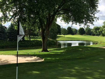 Overview of golf course named Spring Meadows Country Club