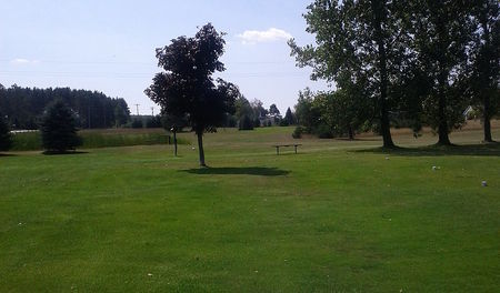 Overview of golf course named Green Trees Golf