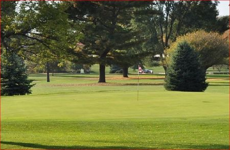 Burr oak golf course cover picture