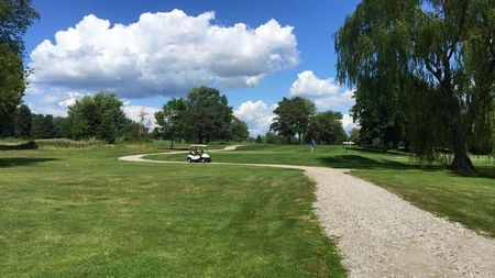 Overview of golf course named Hickory Hollow Golf Course
