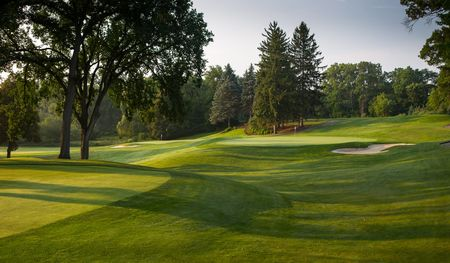 Overview of golf course named Plum Hollow Country Club