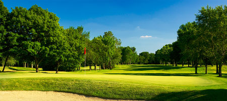 Overview of golf course named Broadmoor Country Club