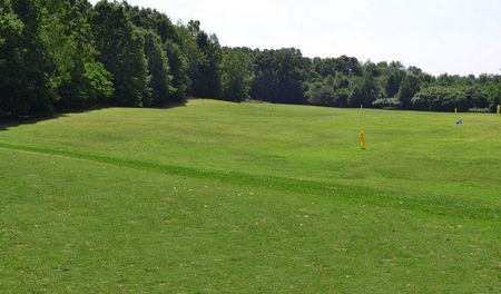 Overview of golf course named Maple Hills Golf Club