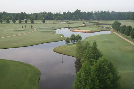 Overview of golf course named Shiloh Ridge Athletic Club