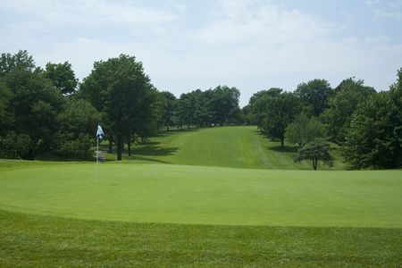 Overview of golf course named Blue Hills Country Club