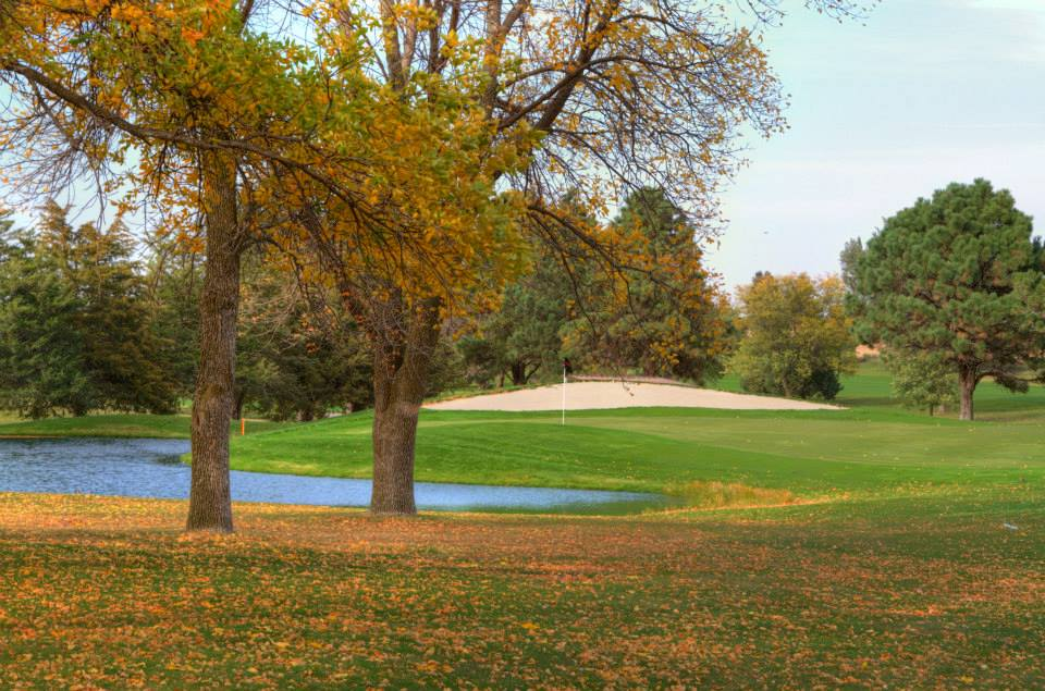 Overview of golf course named Albion Country Club