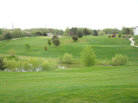 Overview of golf course named Lake Ridge Golf Course