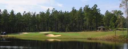Overview of golf course named Anderson Creek Golf Club