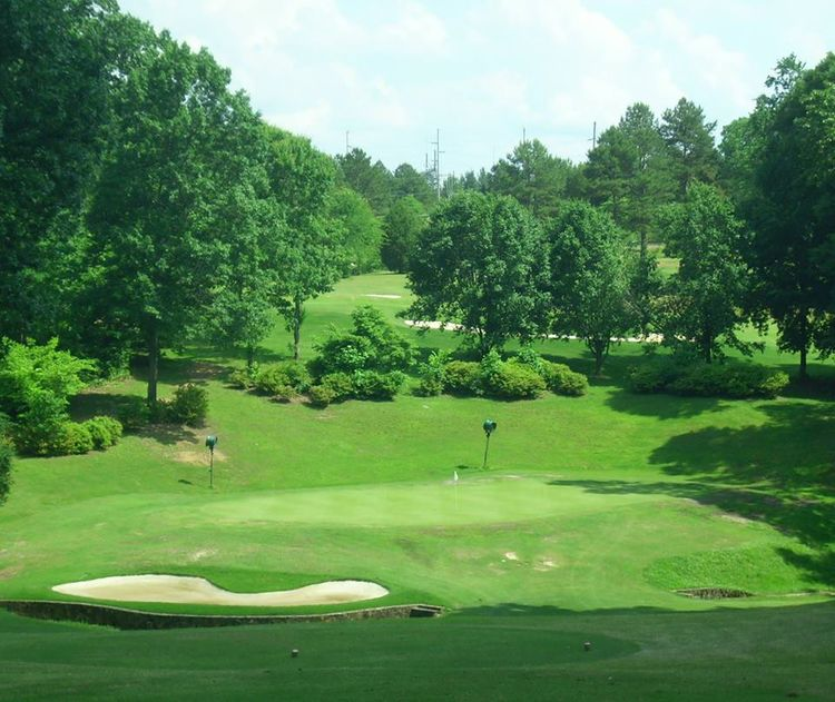 Asheboro municipal golf course cover picture