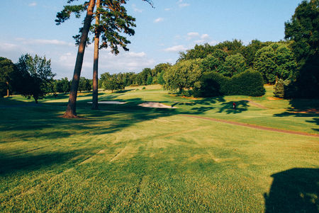 Overview of golf course named Badin Inn Golf Resort and Club
