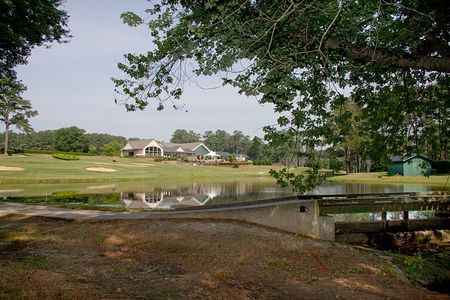 Overview of golf course named Benvenue Country Club