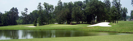 Overview of golf course named Cowans Ford Country Club