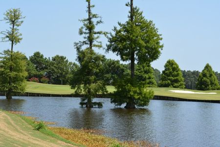 Overview of golf course named Crow Creek Golf Club