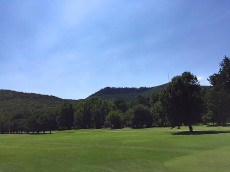 Overview of golf course named Crowder's Mountain Golf