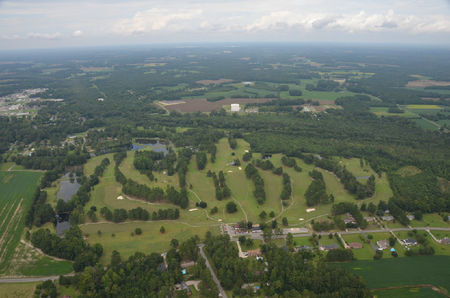 Overview of golf course named Fairmont Golf Club