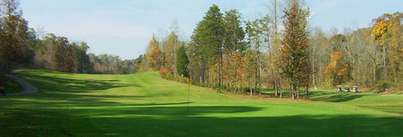 Overview of golf course named Fox Den Country Club