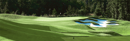 Overview of golf course named Hasentree Club