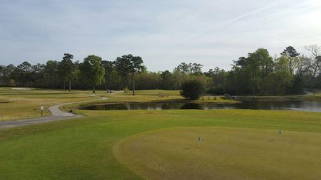 Overview of golf course named Olde Point Golf and Country Club