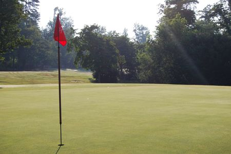 Overview of golf course named Pine Brook Country Club