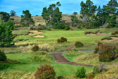 Overview of golf course named Bandon