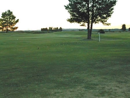 Overview of golf course named Christmas Valley Golf Course
