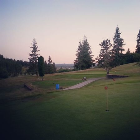 Overview of golf course named Coquille Valley Elks