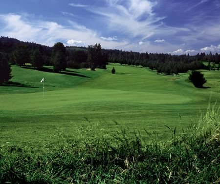 Overview of golf course named Diamond Woods Golf Course