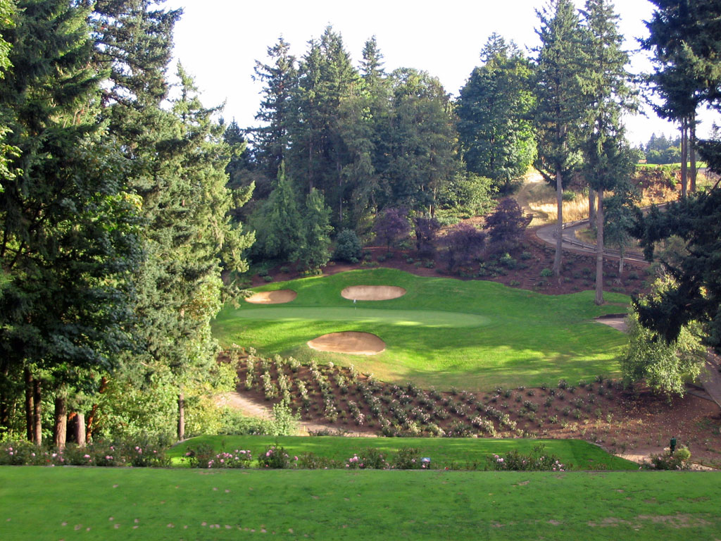 Overview of golf course named Golf Club of Oregon, The