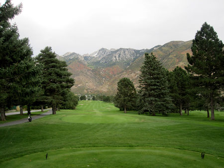 Overview of golf course named Hidden Valley Golf Course