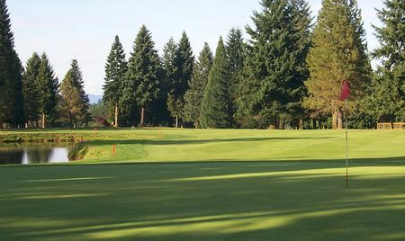 Overview of golf course named Mountain View Golf Club